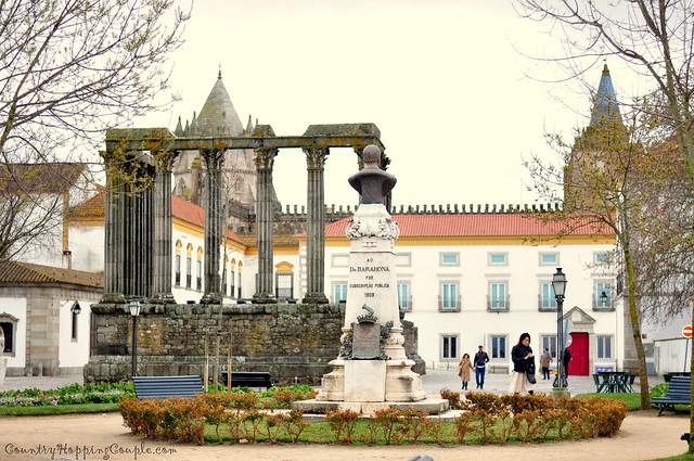 Evora Temple UNESCO Heritage Monument