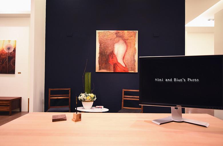 台中環中路家具沙發廚具系統櫃傢櫥周旻虹畫展11