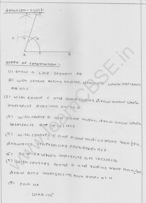 RD Sharma Class 9 solutions Chapter 17 Constructions Ex 17.2 Q 13