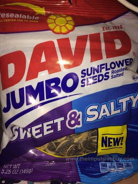 David Jumbo Sweet & Salty Sunflower Seeds