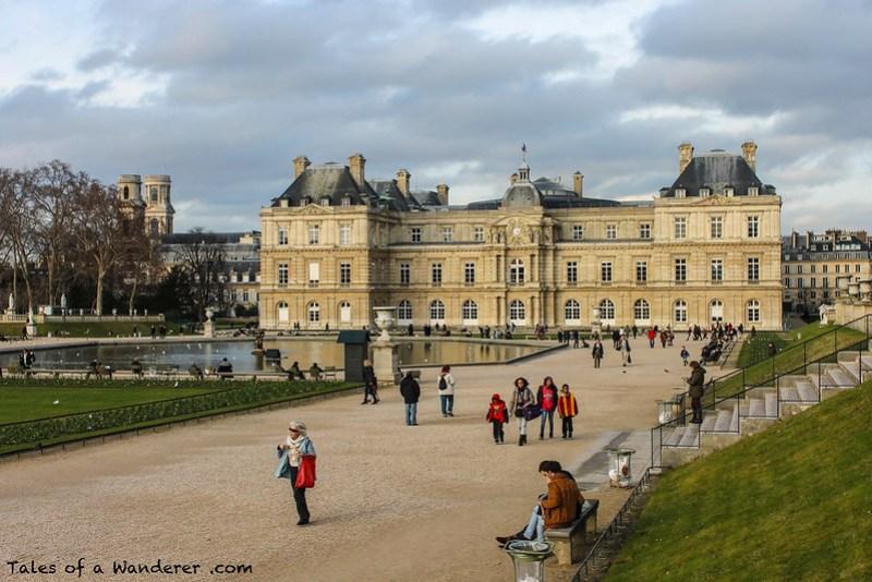 PARIS - Jardin du Luxembourg - Église Saint-Sulpice / Palais du Luxembourg