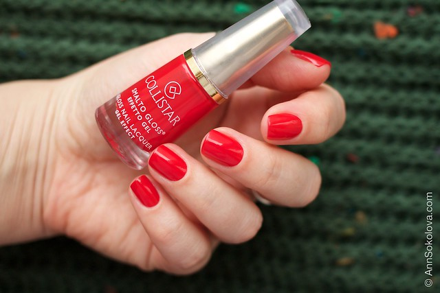 04 Collistar Gloss Nail Lacquer #580 Rosso Sofia
