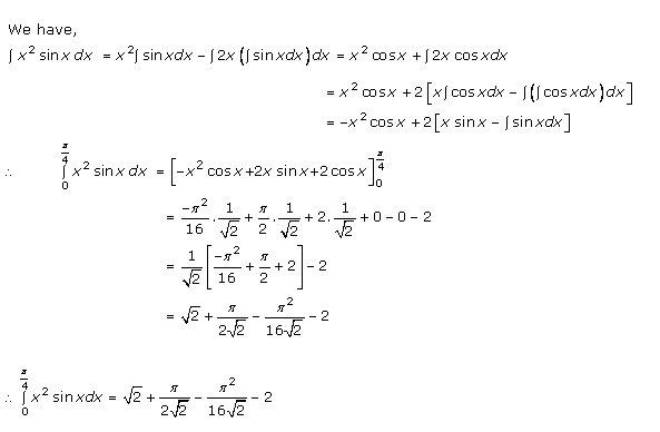 RD Sharma Class 12 Solutions Chapter 20 Definite Integrals Ex 20.1 Q29