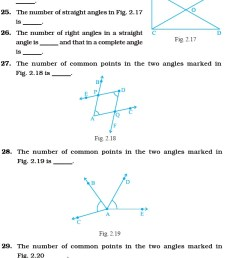 Class 6 Important Questions for Maths – Geometry   AglaSem Schools [ 2260 x 645 Pixel ]