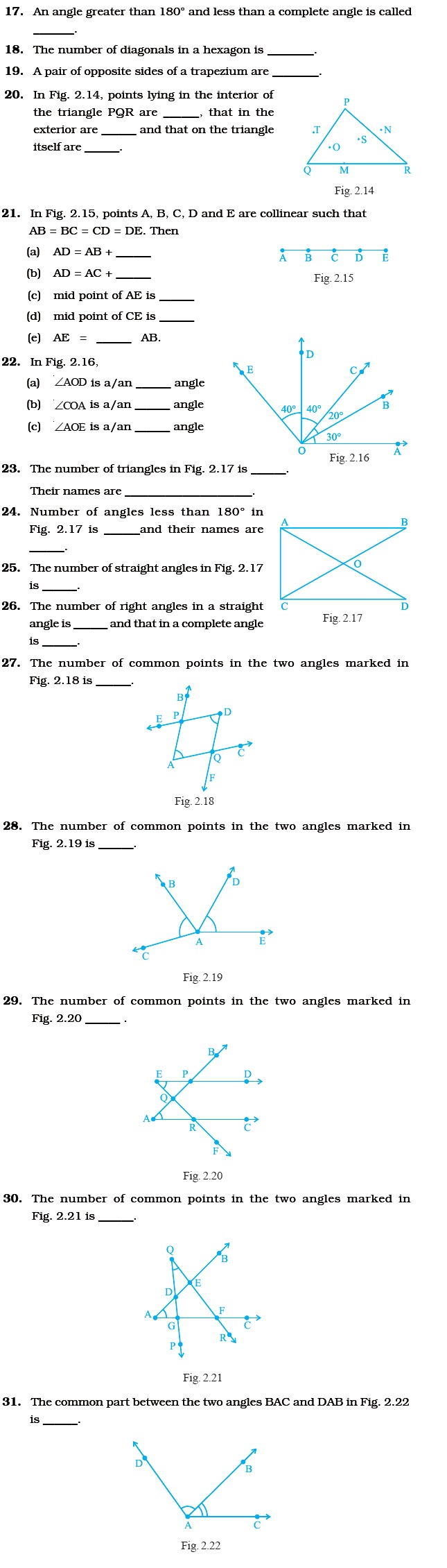 hight resolution of Class 6 Important Questions for Maths – Geometry   AglaSem Schools