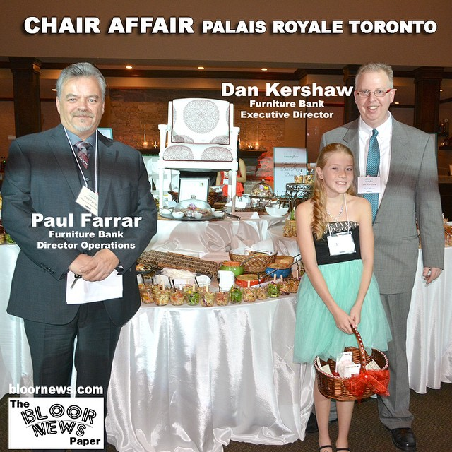 Chair Affair Palais Royale Toronto  Chair Affair is our annual auction based gala and fundraiser where we team up with prominent artists and designers to repurpose and reimagine old chairs, with all proceeds going towards expanding our social enterprise a