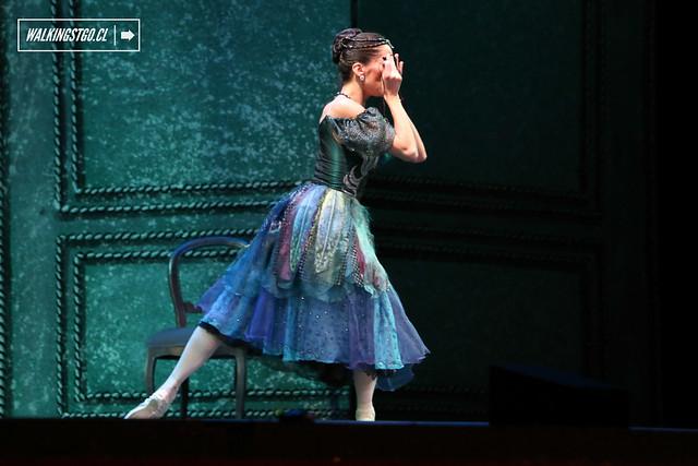 El regreso de La dama y el bufón de John Cranko en el Teatro Municipal de Santiago -14.11.2014-