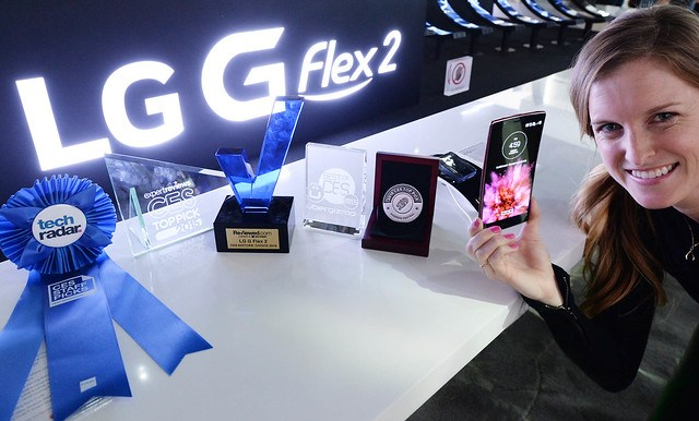 CES15 LG Stand
