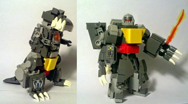 Grimlock: Dino and robot mode