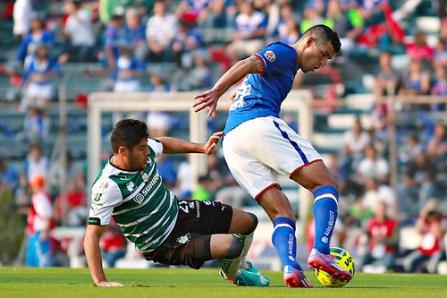 Cruz Azul venció a Santos.