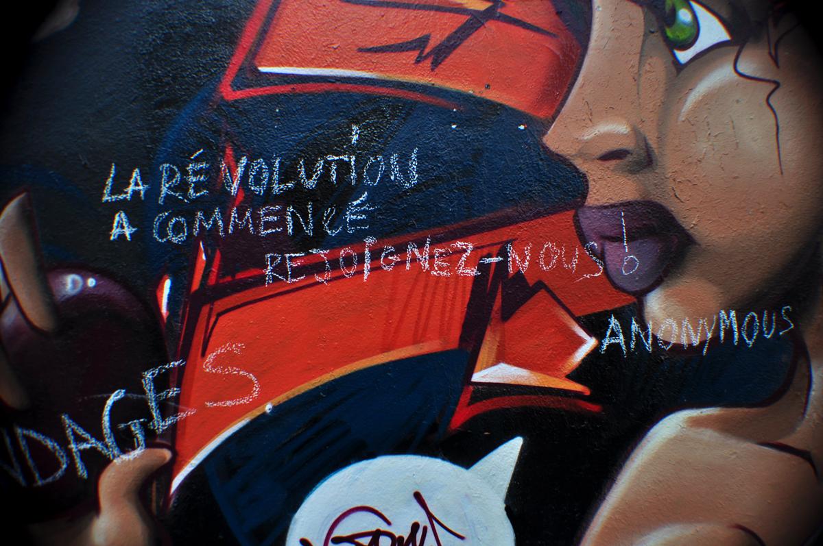 LA RÉVOLUTION A COMMENCÉ REJOIGNEZ-NOUS!