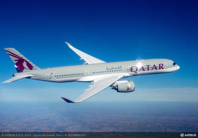 , Airbus entrega primeiro A350 XWB à Qatar Airways, Portal Aviação Brasil