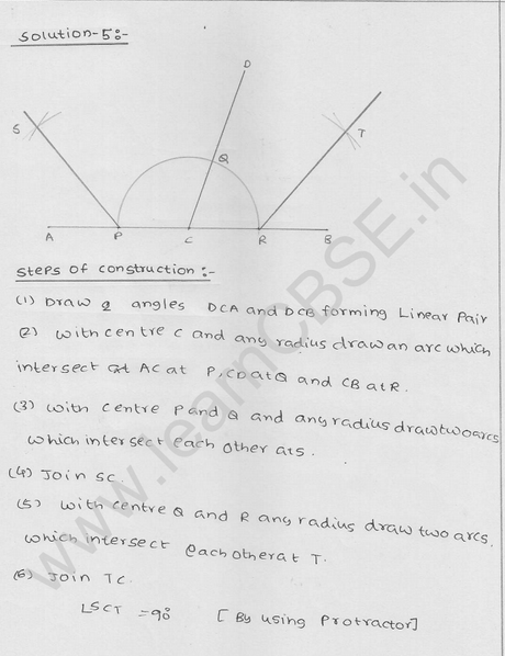 RD Sharma Class 9 solutions Chapter 17 Constructions Ex 17.2