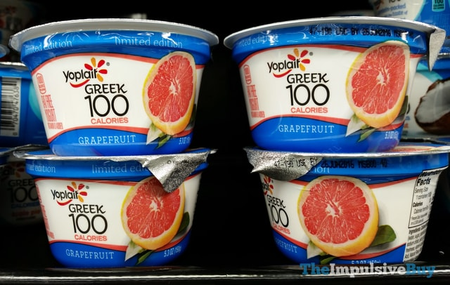 Yoplait Greek 100 Limited Edition Grapefruit Yogurt