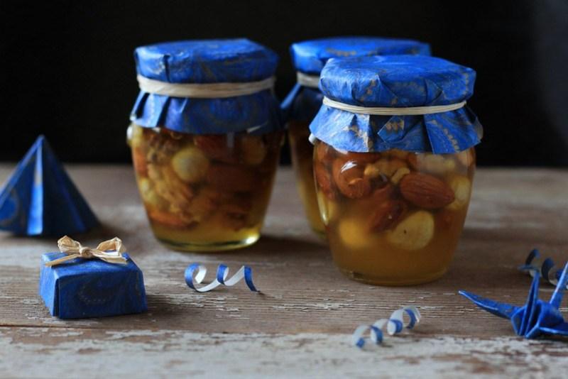 Nuts in Honey sweet Christmas gift