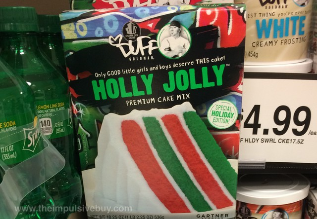 Charm City Cakes Duff Goldman Special Holiday Edition Holly Jolly Premium Cake Mix