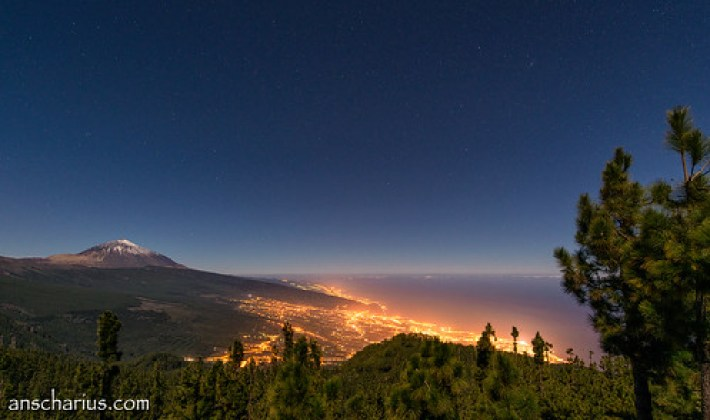 El Teide at Night #1 - Nikon D800E & Nikkor 2,8/14-24mm