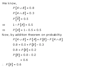 RD-Sharma-class-11 Solutions-Chapter-33-Probability-Ex-33.4-Q-4