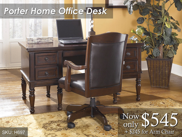 Porter Office Desk - Priced