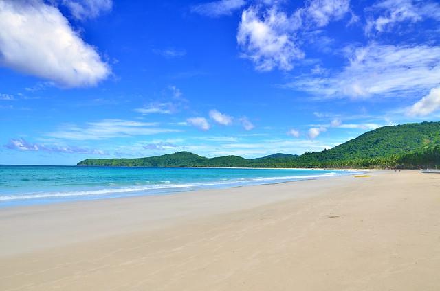 Nacpan and Calitang Twin Beaches, El Nido