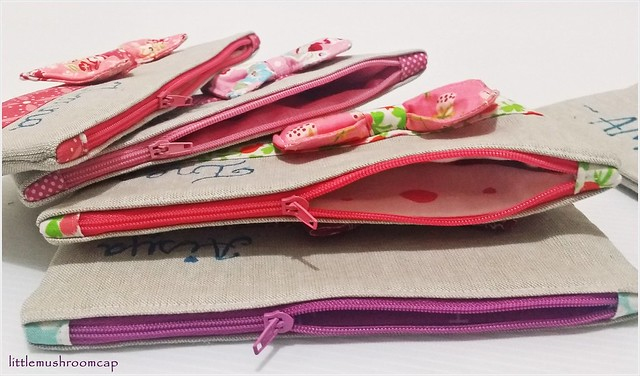 Pouches - Tutorial on My blog!
