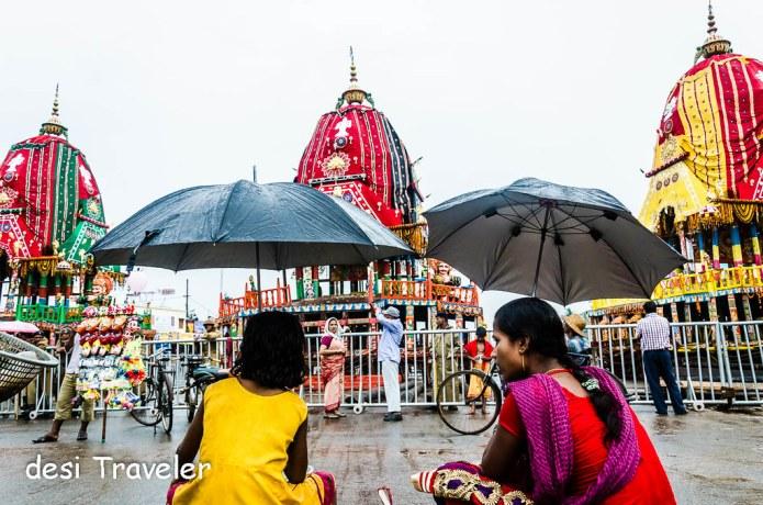 Puri Jagannath Rath Yatra Chariots