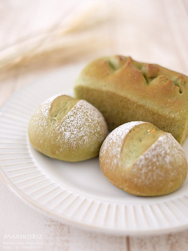 抹茶のパン 20160524-DSCF8920