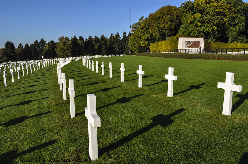 LUXEMBOURG - HAMM - Luxembourg American Cemetery and Memorial