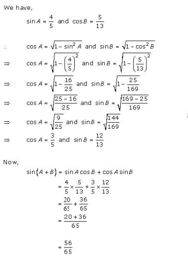 RD Sharma Class 11 Solutions Chapter 7 Trigonometric Ratios