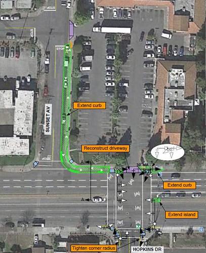 Cyclelicious Twoway cycletrack for San Jose CA