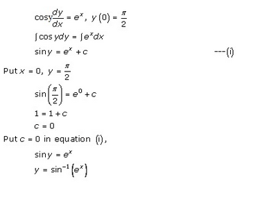RD Sharma Class 12 Solutions Chapter 22 Differential Equations Ex 22.7 Q45-iv