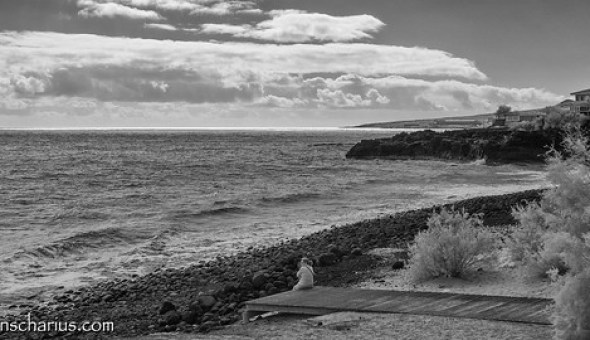 Candelaria Beach - Nikon 1 V1 Infrared 700nm & 10-100mm CX Lens