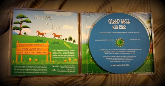 sleep well for kids cd