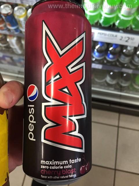 Pepsi Max Cherry Blast