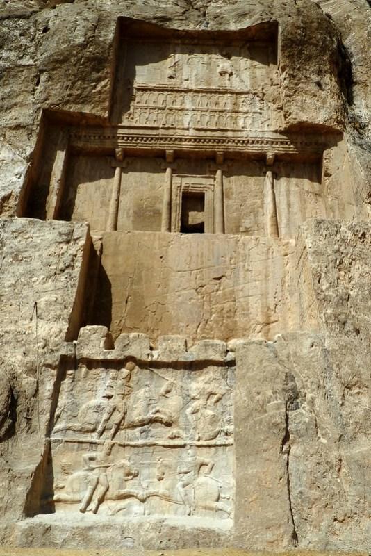 Naqsh-e Rostam Tumba de Dario I Irán 750