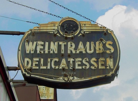 Weintraub's Delicatessen - 126 Water Street, Worcerster, Massachusetts U.S.A. - September 6, 2014