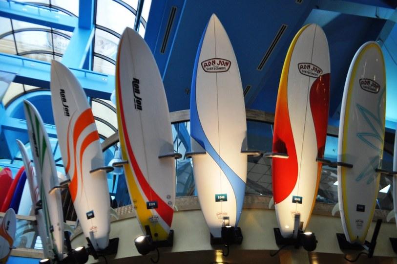 Surfboards - Ron Jon Surf Shop, Cocoa Beach, Fla., Nov. 8, 2014
