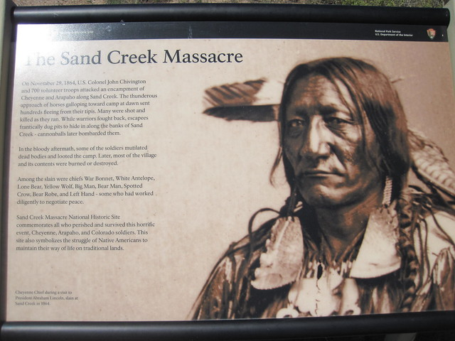 Picture from Sand Creek Massacre National Historic Site