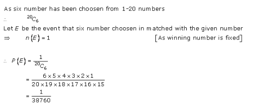 RD-Sharma-class-11 Solutions-Chapter-33-Probability-Ex-33.3-Q-33