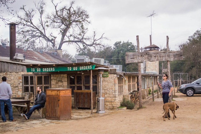 Salt Lick Barbecue BBQ Restaurant Austin Texas