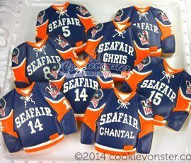 Seafair Minor Hockey Vancouver Jerseys