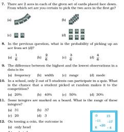 Class 7 Important Questions for Maths – Data Handling   AglaSem Schools [ 1679 x 618 Pixel ]