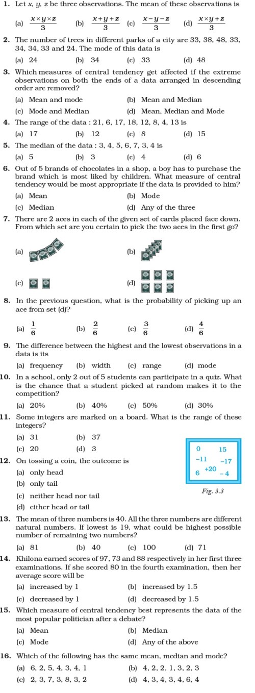 small resolution of Class 7 Important Questions for Maths – Data Handling   AglaSem Schools