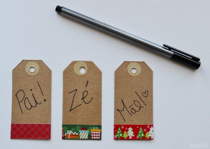 Etiquetas de Natal personalizadas 4