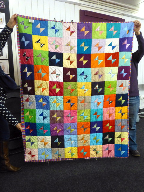 Bee Blessed Bow Tie Quilt