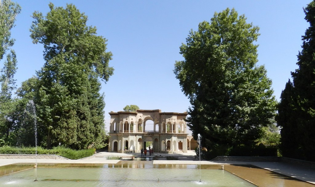 Jardín Shazdeh Jardín del Príncipe Bagh-e Shazdeh Mahan Irán 06