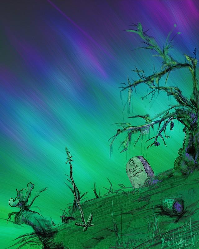 Aurora Landscape (WIP)
