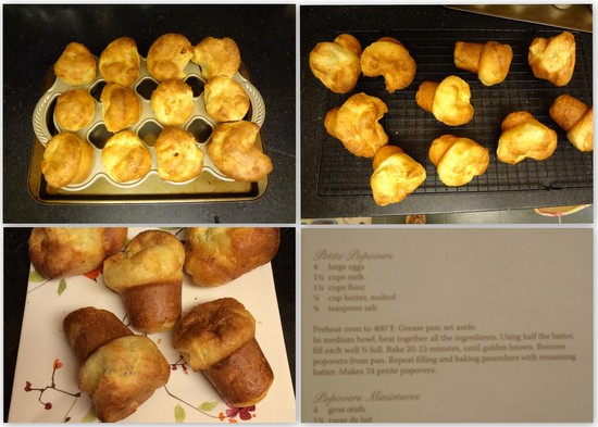 Popovers, bake-a-thon