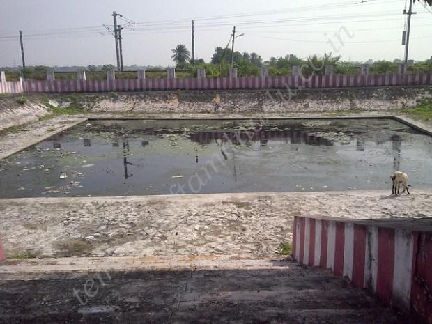 Temple Tank, Atcheeswarar Temple at Acharapakkam