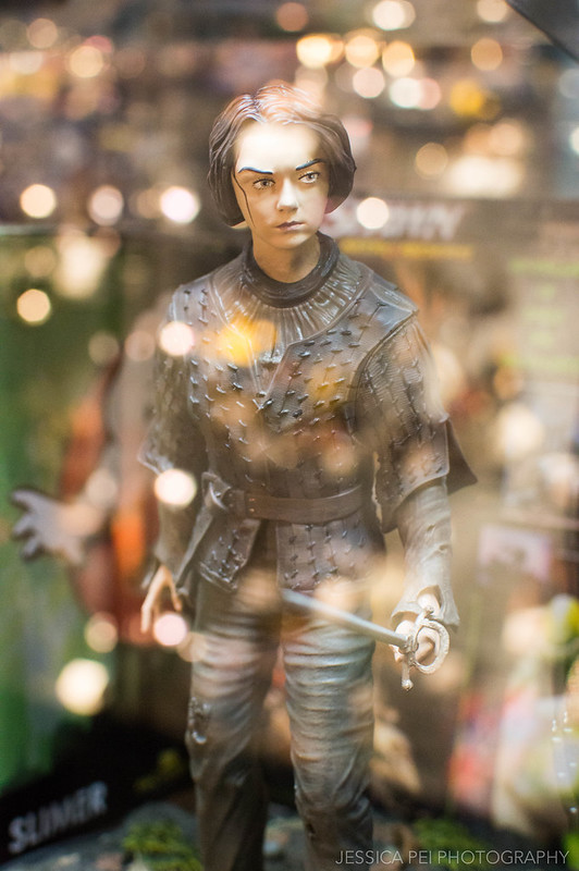 Arya Game of Thrones Figurine at Forbidden Planet New York